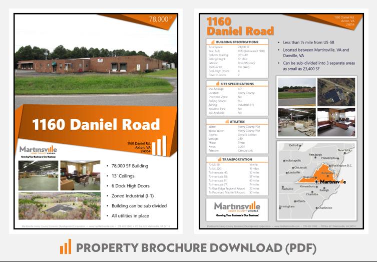 1160 Daniel Road Building Brochure