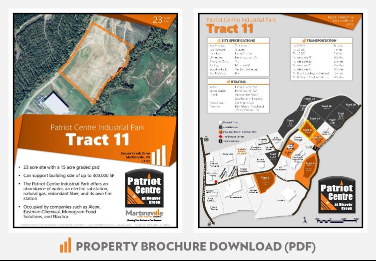 Patriot Centre Industrial Park - Tract 11 Martinsville VA
