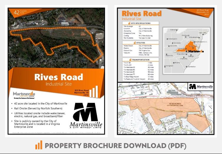 Rives Road Industrial Site Martinsville VA